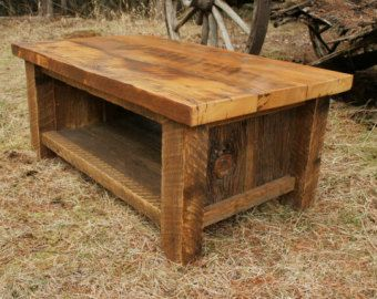 Reclaimed Barnwood Coffee Table By CreativeHardwoodsMN On Etsy · Reclaimed  Wood FurnitureIndustrial ...