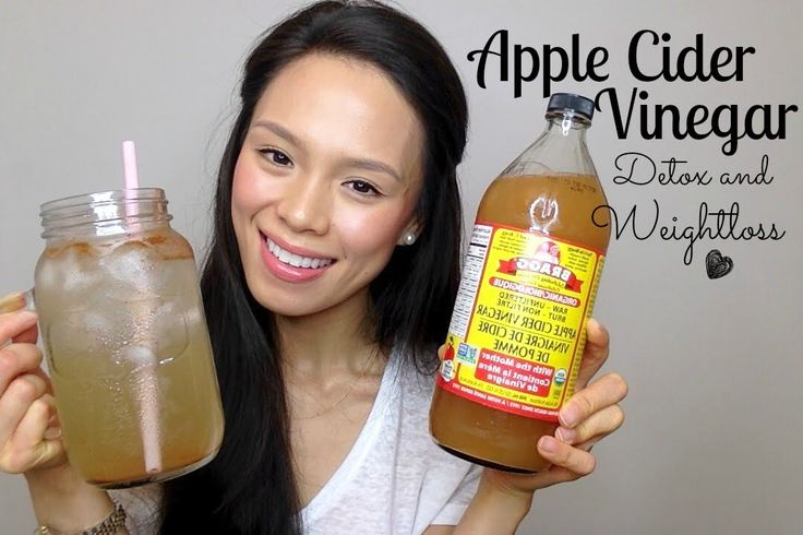 Clear Skin Apple Cider Vinegar Drink Recipe