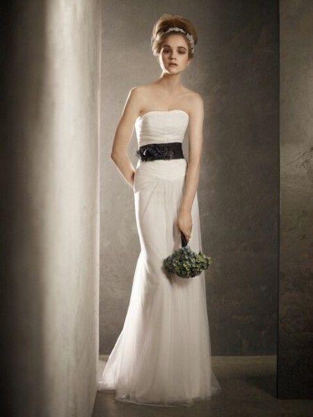d9e3b02ea631 Vera Wang White VW351004, $250 Size: 6 | Used Wedding Dresses | The ...