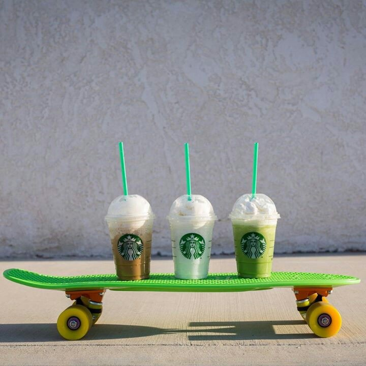 If we had penny boards, we wouldnt need anyone to drive us to starbucks after school anymore! @Mika Callahan @Kiayah Louangboriboune , katie, zoey