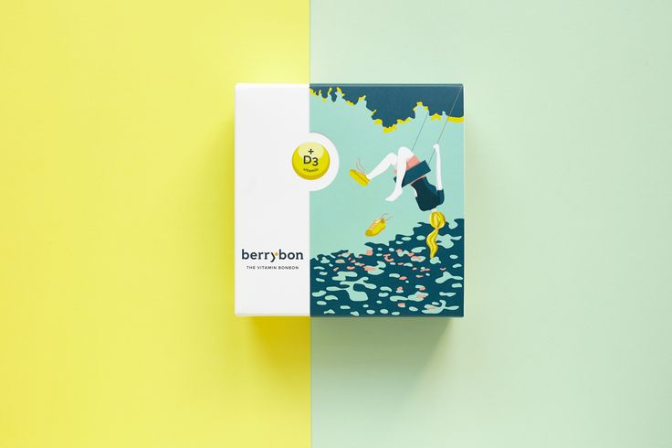 BerryBon - The vitamin bonbon redesign
