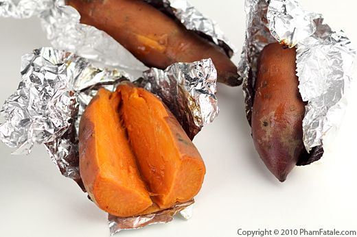 Oven Baked Yams Recipe - They need to bake in the oven for about 20 minutes more then recipe says