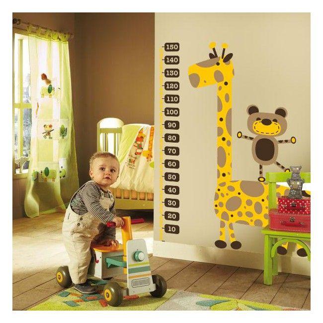 Quieres conocer el progreso del crecimiento de tu bebé ?. En Vinilos Casa ® te proponemos este precioso y exclusivo vinilo decorativo infantil, acompañado de un metro, y con el que podrás decorar paredes, decorar puertas, decorar cristales.