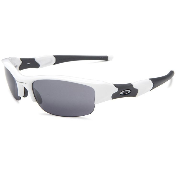 oakley half jacket golf array sunglasses  oakley men's oo9112 03882j flak jacket white frame slate iridium 63mm lens sunglasses by oakley