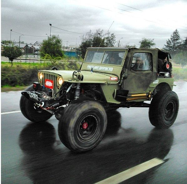 Project Willys MB LSX 2013 (Chile)