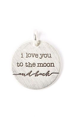 'I Love You to the Moon' Pendant