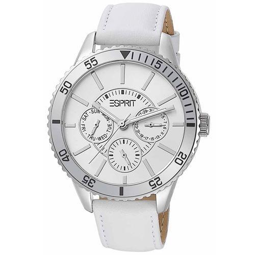 Ρολόι Esprit Marin Speed White Leather Strap - BeMine.gr