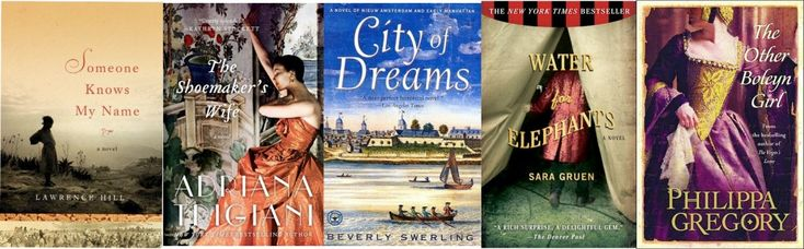 My Favorite Historical Fiction Books