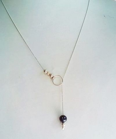 DIY bijoux: un collier élégant et simple à faire.
