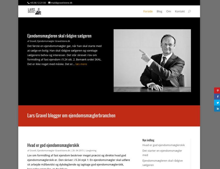 Lars Gravel, ejendomsmægler