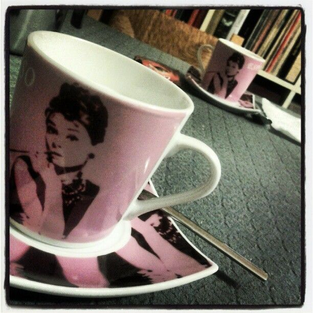 coffee with Audrey