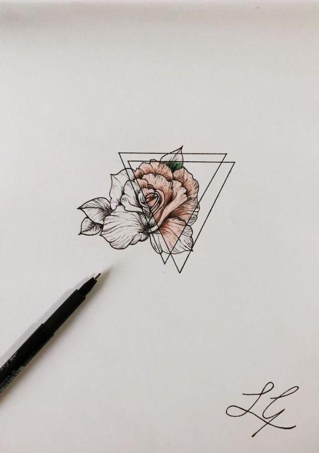 Geometrische tattoo – Tattoos • Inspiraties • interesse pinterest / analiceduarte – #Ge – Malika Gislason