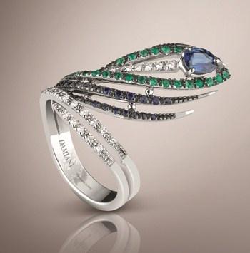 Peacock - Ring