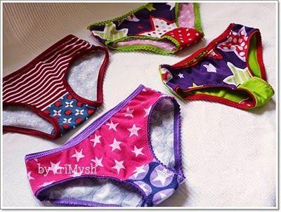 Unterhosen - Drunter*Girls von der Erbsenprinzessin