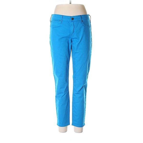 Pre-owned Gap Jeggings Size 12: Blue Women's Bottoms ($21) ❤ liked on Polyvore featuring pants, leggings, blue, jean leggings, gap jeggings, gap leggings, blue jean leggings and blue trousers