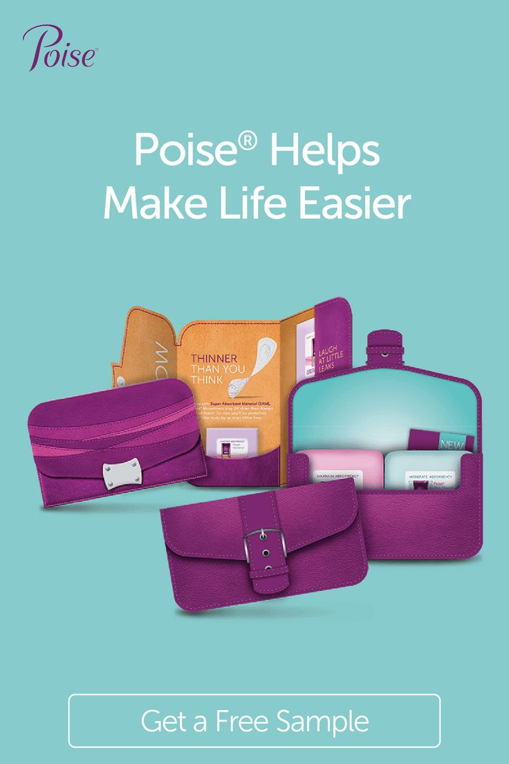 Try out Poise® products for a practical solution to
