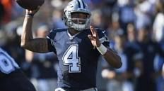 With Tony Romo hurt, it's now Dak Prescott's show with Cowboys