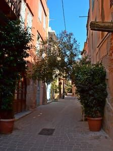 Check out this awesome listing on Airbnb: Old Town Traditional Studio - Houses for Rent in Chania