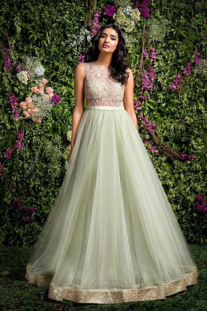 Best Indian Gown Design Ideas On Pinterest Indian Gowns
