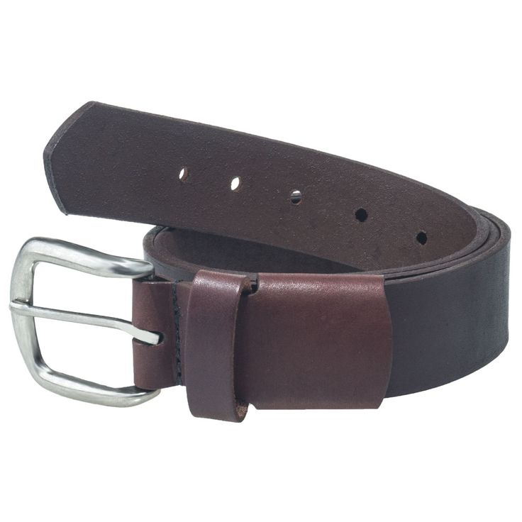 Working Persons Store Unisex Brown 18222E USA Made Elastic Stretch Leather Belt