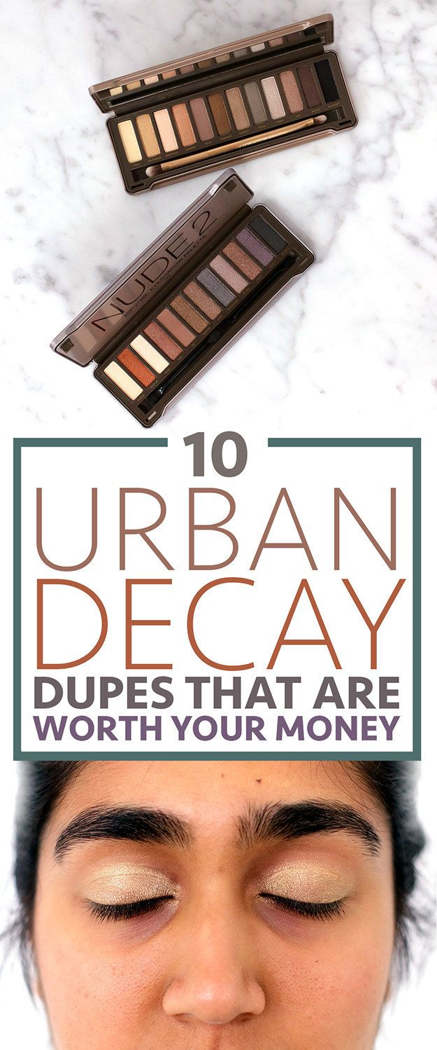 We Tested These Urban Decay Rip-Offs So You Don't Have To