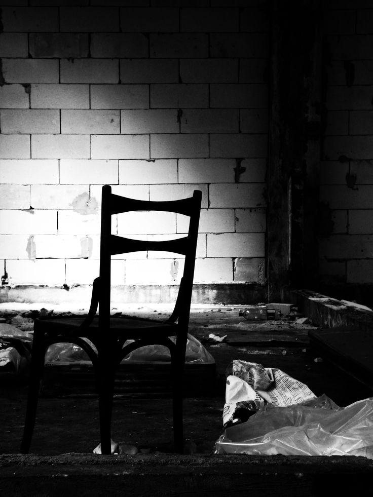 The chair hidden
