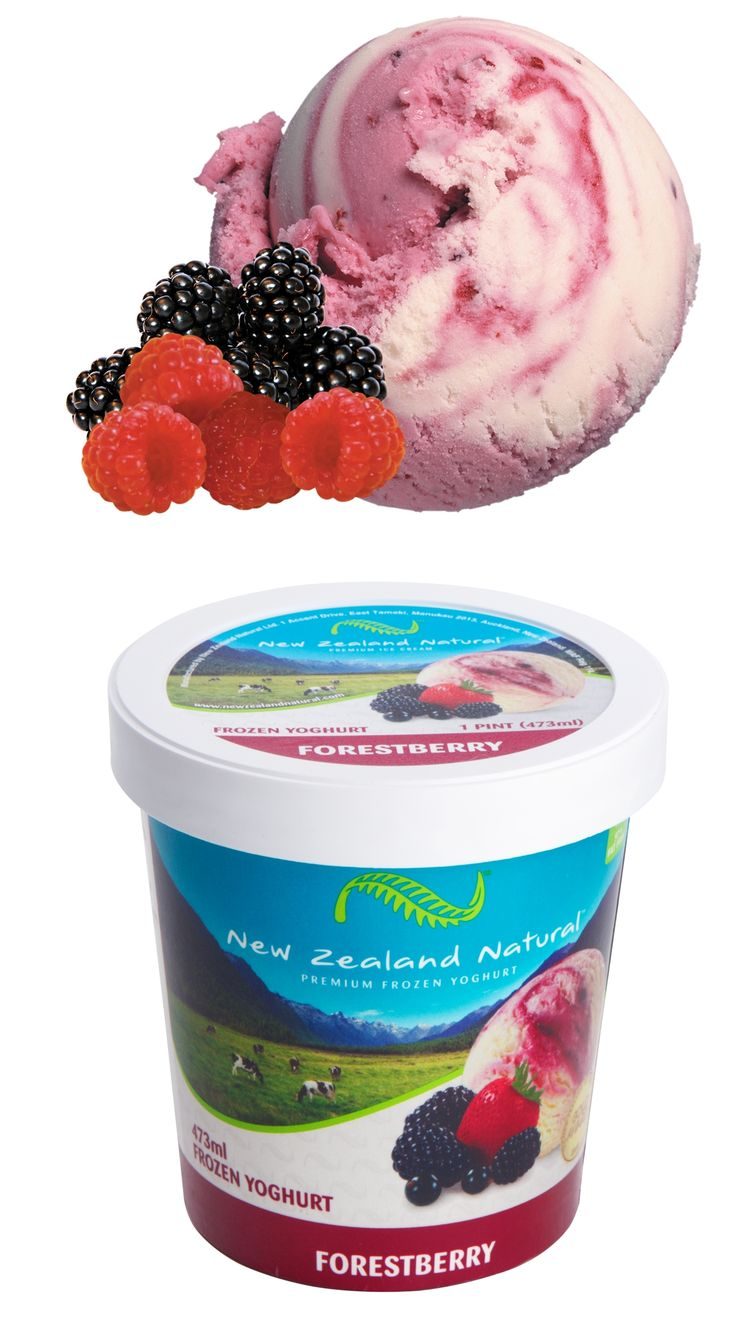 Forest Berry - 125ml, 473ml & 6L #strawberry  #icecream #newzealandicecream #newzealand