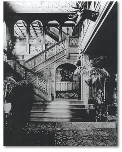 Ventfort Hall is the home of The Museum of the Gilded Age. The interior of the mansion is the most remarkable and elaborate interior in this area. No money was spared in the construction of the magnificent staircase and gallery.