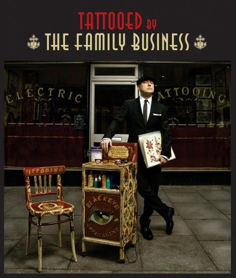 A tattoo book like no other, Tattooed by the Family Business focuses on the work of Mo Coppoletta and The Family Business, based in London's Exmouth Market.