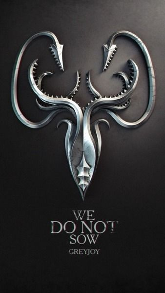 Game of thrones. I have seen heaps of house sigil arts but these ones are by far the coolest. #Greyjoy