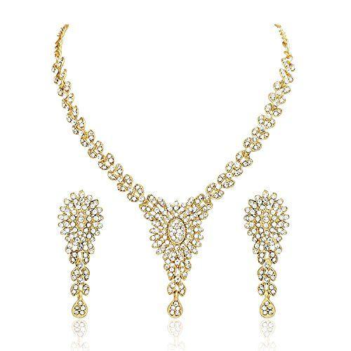 Dazzling Indian Bollywood Gold Plated Cz Wedding & Party ... https://www.amazon.com/dp/B06Y1HQ3BY/ref=cm_sw_r_pi_dp_x_xml6yb5P3NAV8