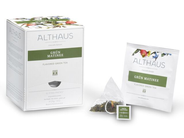 Grun Matinee Althaus  Pyra Pack - torebki w kształcie piramdki  WeBrew.coffee