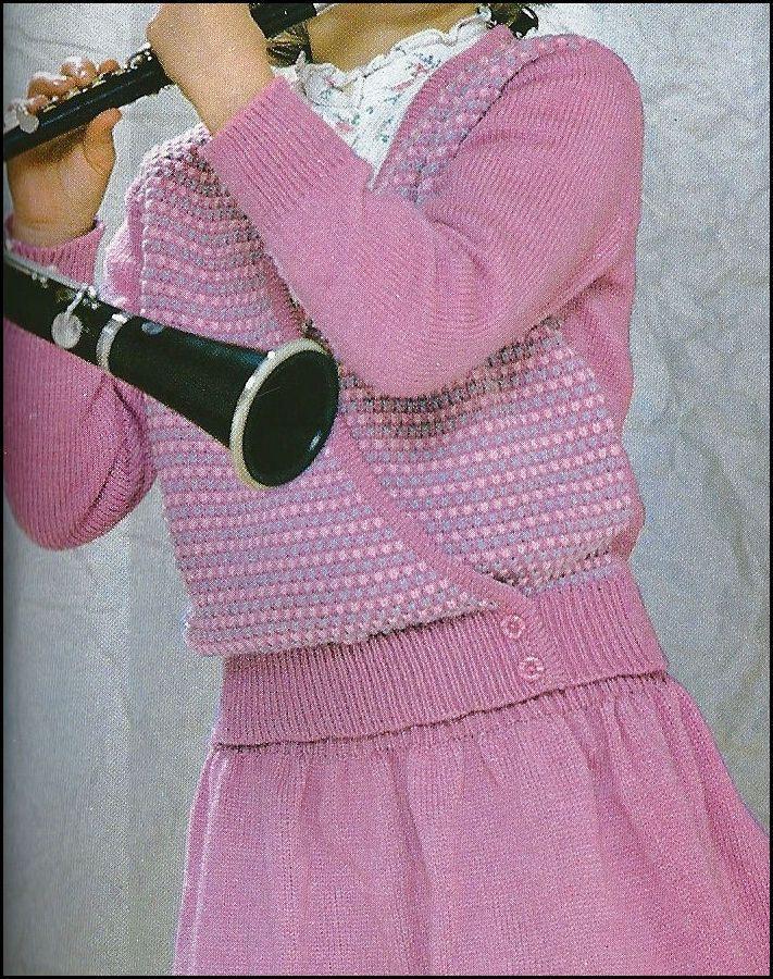 patron tricot de louise