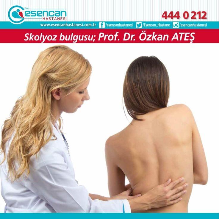 Omuz ve kürek kemiği seviye farkları skolyoz bulgusu olabilir.  Prof. Dr. Özkan ATEŞ - Beyin ve Sinir Cerrahisi Uzmanı