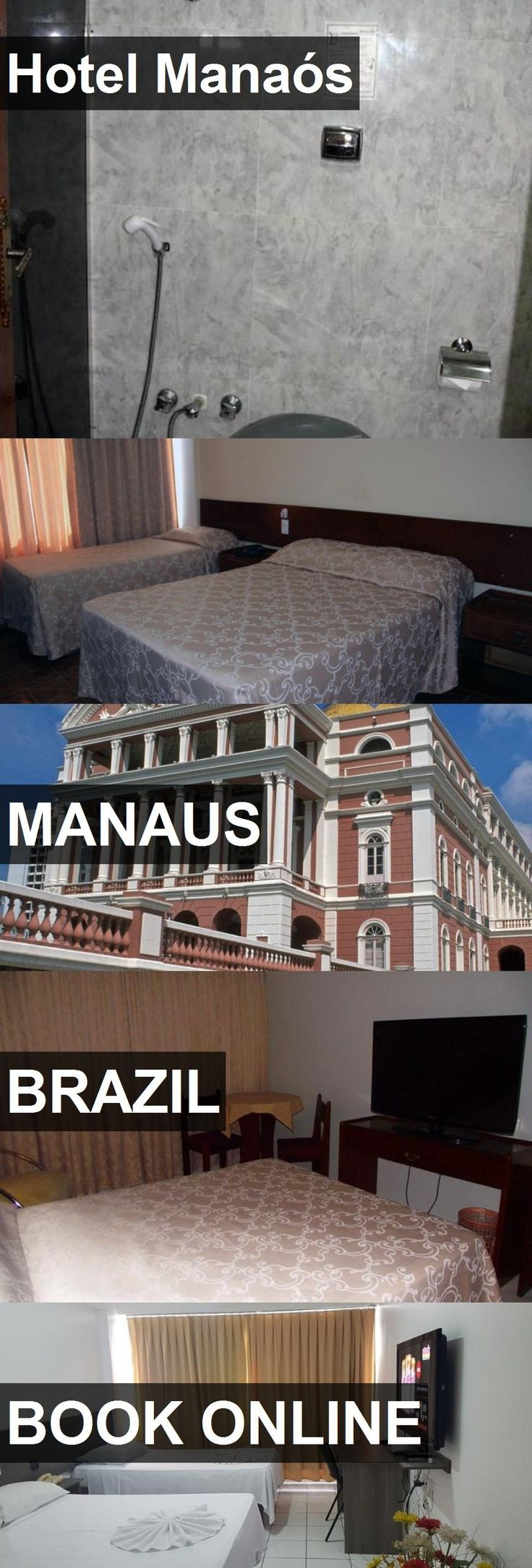 Hotel Manaós in Manaus, Brazil. For more information, photos, reviews and best prices please follow the link. #Brazil #Manaus #travel #vacation #hotel
