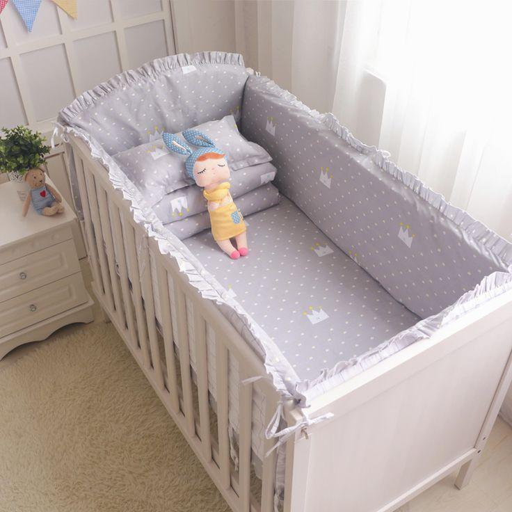 Exceptional 5 Stücke Cartoon Baby Bettwäsche Set Baumwolle Krippe Bettwäsche Set Baby  Bettwäsche Für Mädchen Jungen