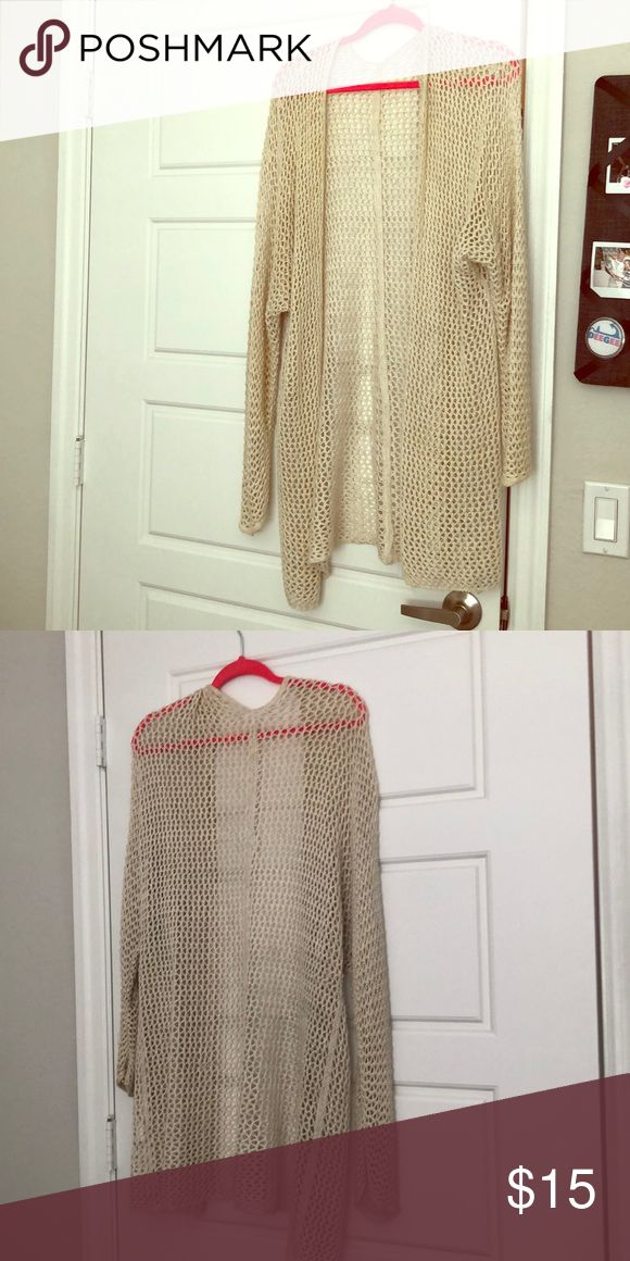 Brandy Melville cardigan So soft and matches with everything. One size but fits almost any size Brandy Melville Sweaters Cardigans