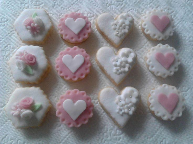 Svatební cukroví pro kamarádku