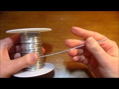 Jewelry Tutorial : How to Make Fleur de Lis Pendant or Earrings : Wire Wrapped Beginner Project - YouTube
