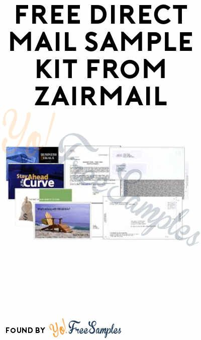 FREE Direct Mail Sample Kit from Zairmail (Companies Only