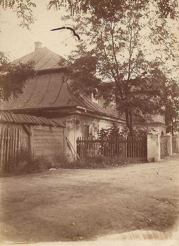 ul. Zwierzyniecka, Kraków - 1907 rok, stare zdjęcia