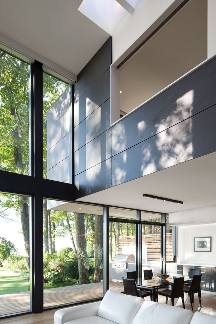 toronto-based studio taylor smyth architects has designed the house on the bluffs project.  completed in 2011, this 2,300 square foot contemporary home is located in scarborough, ontario, canada.: Dreams Houses, Window, Open Spaces, Smyth Architects, Interiors, Living Room, Architecture, Modern Houses, Taylors Smyth
