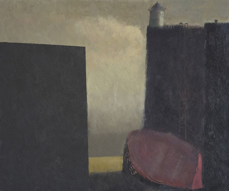 Nicholas Turner, 'PZ153' oil on board