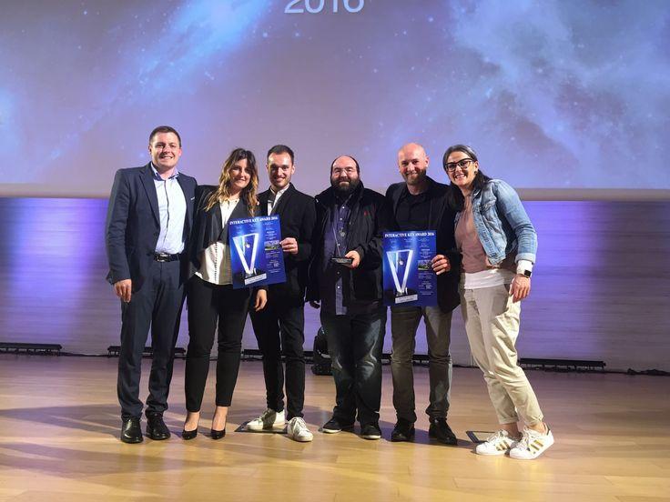 """And the winner is..IVision Group :) Con grande orgoglio il nostro portale per Cortina d'Ampezzo (www.cortinadolomiti.eu) ha vinto il """"Global Communication Key Award 2016"""" durante la serata degli """"Interactive Key Award"""", uno dei concorsi nazionali più importanti del settore web e tecnologie digitali! #mediakey2016 #17mediakey #Ika17 #isite #Ivisiongroup #digitalife #digitaladventure #awards"""