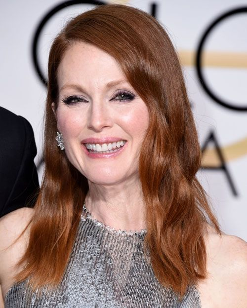 Get the Look: Julianne Moore's Red-Meets-Bronze Hair Color