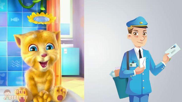 Bak Postacı Geliyor -  Postacı Şarkısı - Tom Çocuk Şarkıları - Bebek Şar...