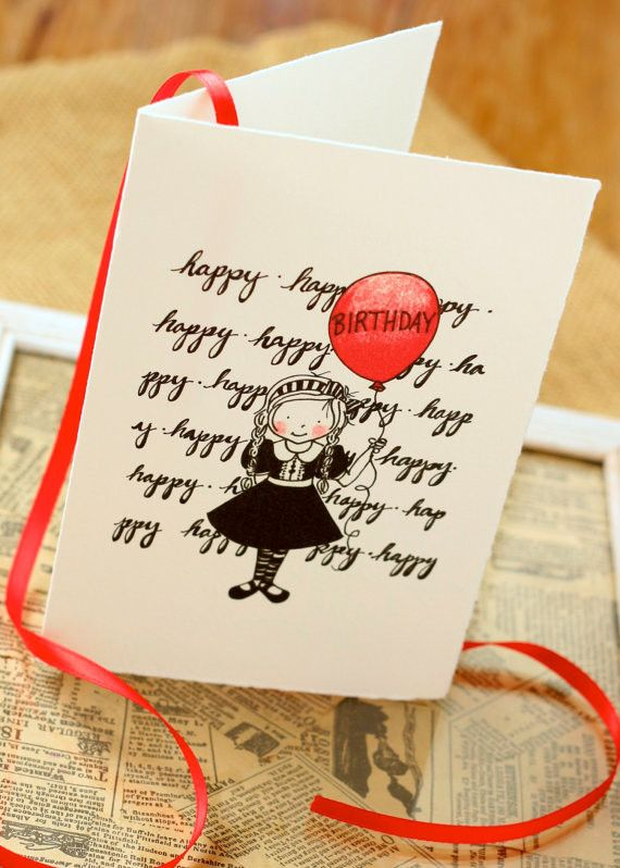 """Write on background in braille, repeated, happy (all as one """"word"""" or spaced, not sure)...then at the end, on a dymo tape tag, """"birthday"""".  Could paper-piece a doll/etc on top.  Same with Merry Christmas and tree."""