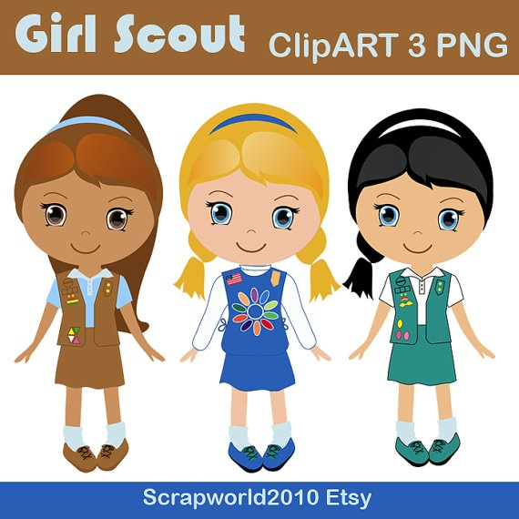 Brownie girl scouts clip art — img 5