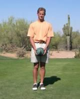 Try This Lunge Exercise to Increase Your Golf Swing Speed: Mike Pedersen demonstrates the starting position for the Lunge With a Twist golf swing speed exercise.