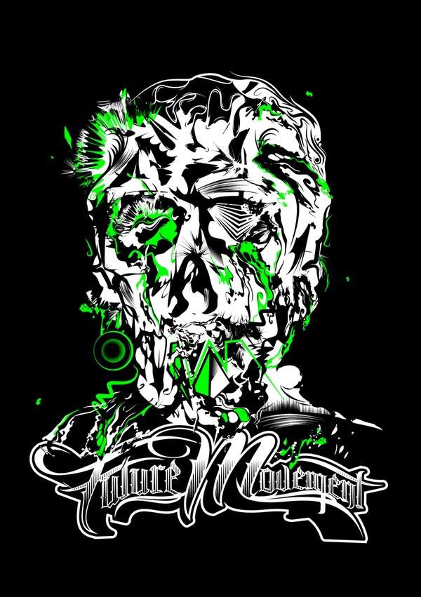RUBS 2K12 Merchandise by Eno FreshForDeath, via Behance